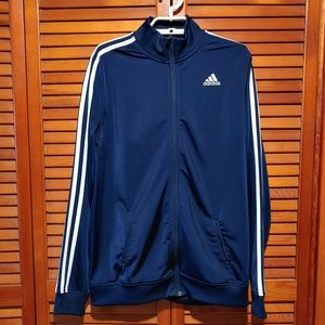 Adidas Track Jacket ~ Dark Blue Youth XL